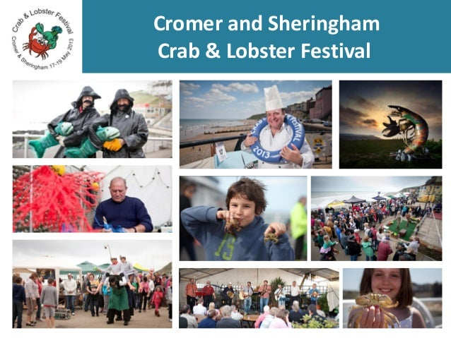 Cromer and Sheringham Crab & Lobster Festival