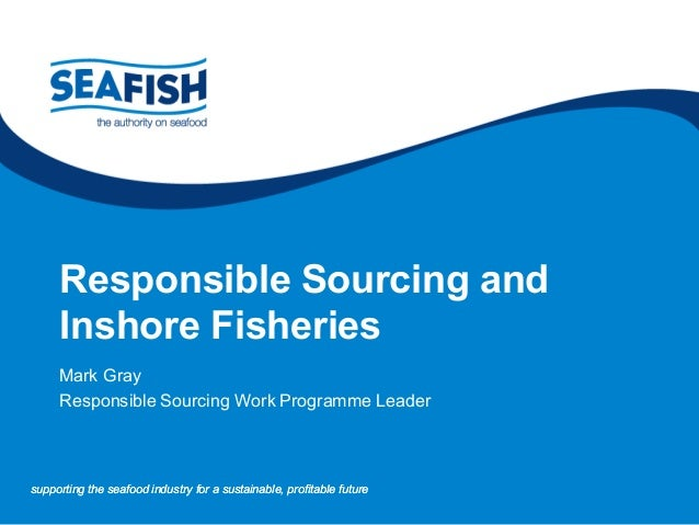 supporting the seafood industry for a sustainable, profitable futuresupporting the seafood industry for a sustainable, pro...