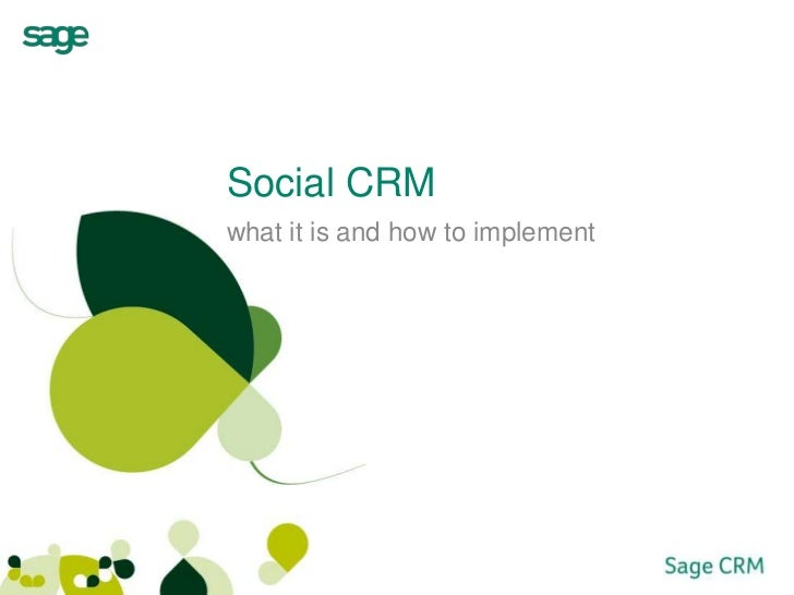 Social CRMwhat it is and how to implement