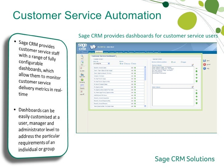 Service Automation Crm Customer Service Automation