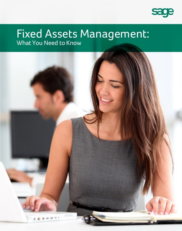 Sage Fixed Assets E-Book:  What you need to know