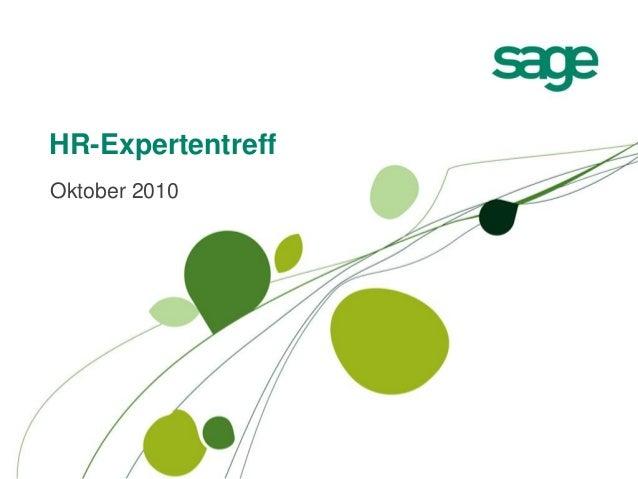HR-Expertentreff Oktober 2010