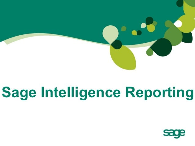 Sage Intelligence Reporting for Caribbean Customers with Debbie Hill