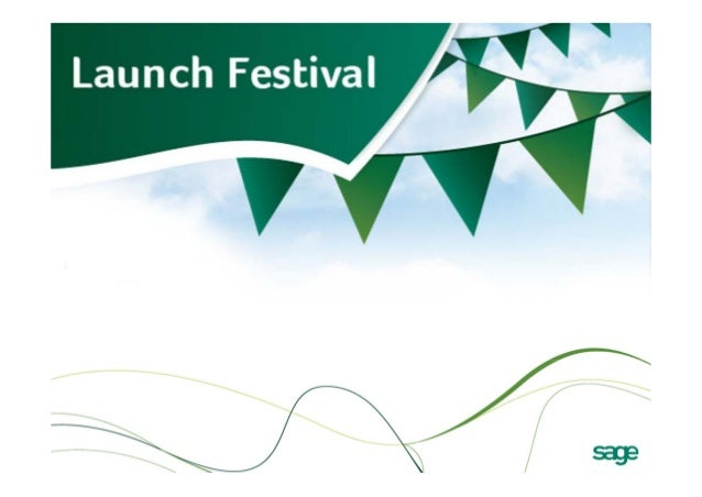 Sage launch festival slide deck