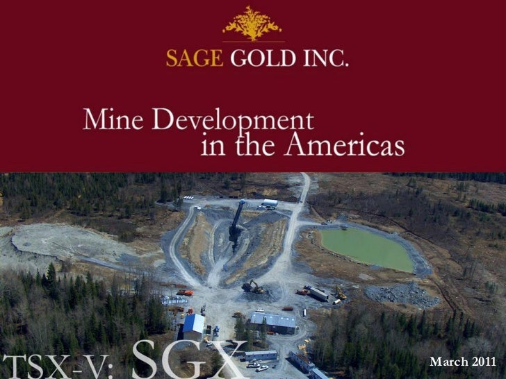SageGold March 2011