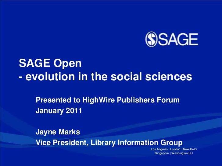 SAGE Open