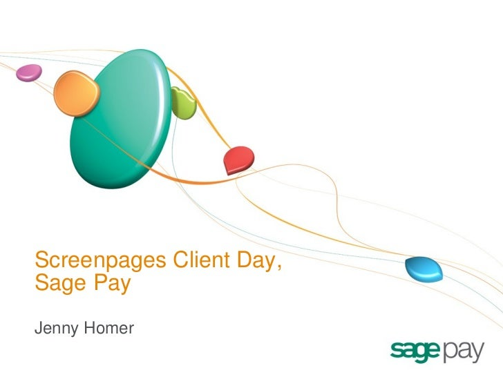 Screenpages Client Day, Sage Pay Jenny Homer