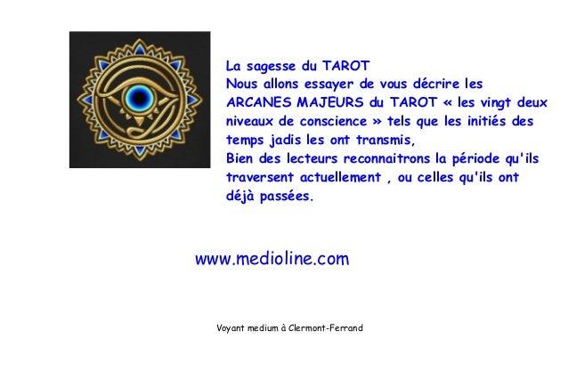 La sagesse du TAROTNous allons essayer de vous décrire lesARCANES MAJEURS du TAROT « les vingt deuxniveaux de conscience »...
