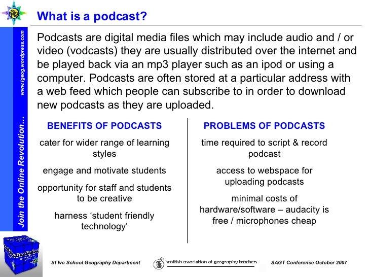 Sagt07 Join Online Revolution Podcasting Help