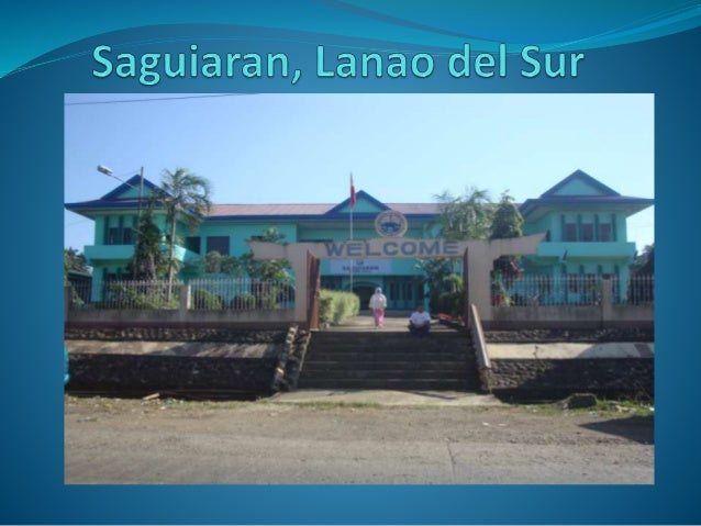 Saguiaran is a Philippine municipality. It is located in the province Lanao Del Sur in Region Autonmous Region in Muslim...