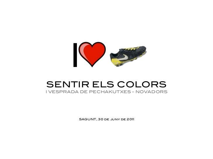 ISENTIR ELS COLORSI VESPRADA DE PECHAKUTXES - NOVADORS         SAGUNT, 30 de juny de 2011