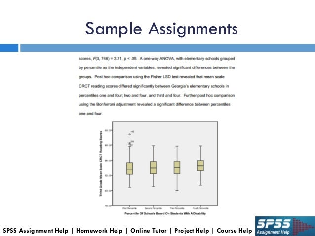 spss coursework Students are frequently given assignments on the basis of the software for which bookmyessay provides necessary spss assignment help the expert writing help for spss homework, project, coursework etc is aware of every single aspect of this software, so they extend necessary assistance to accomplish spss project.