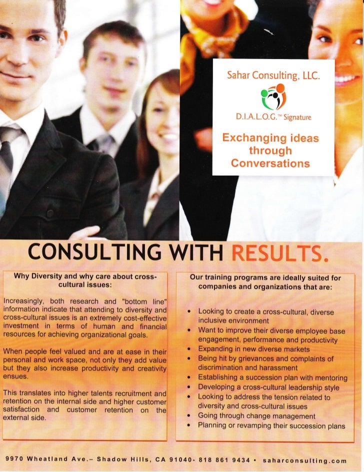 Sahar Consulting Services