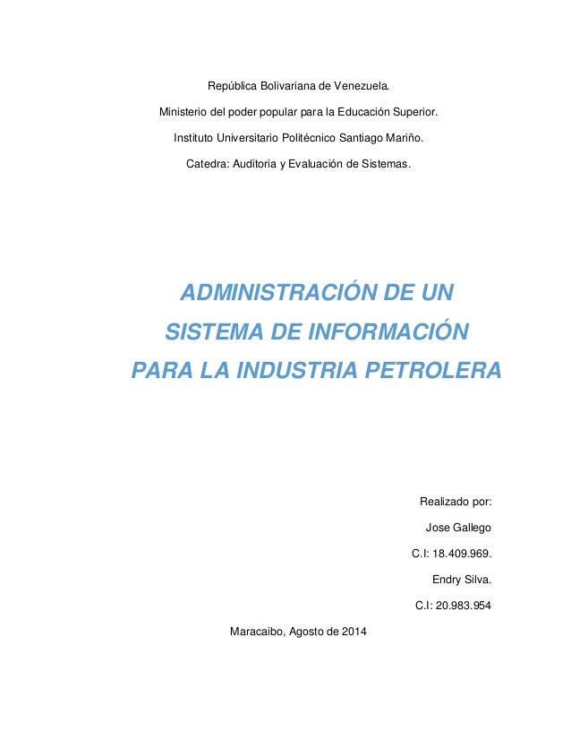 República Bolivariana de Venezuela. Ministerio del poder popular para la Educación Superior. Instituto Universitario Polit...