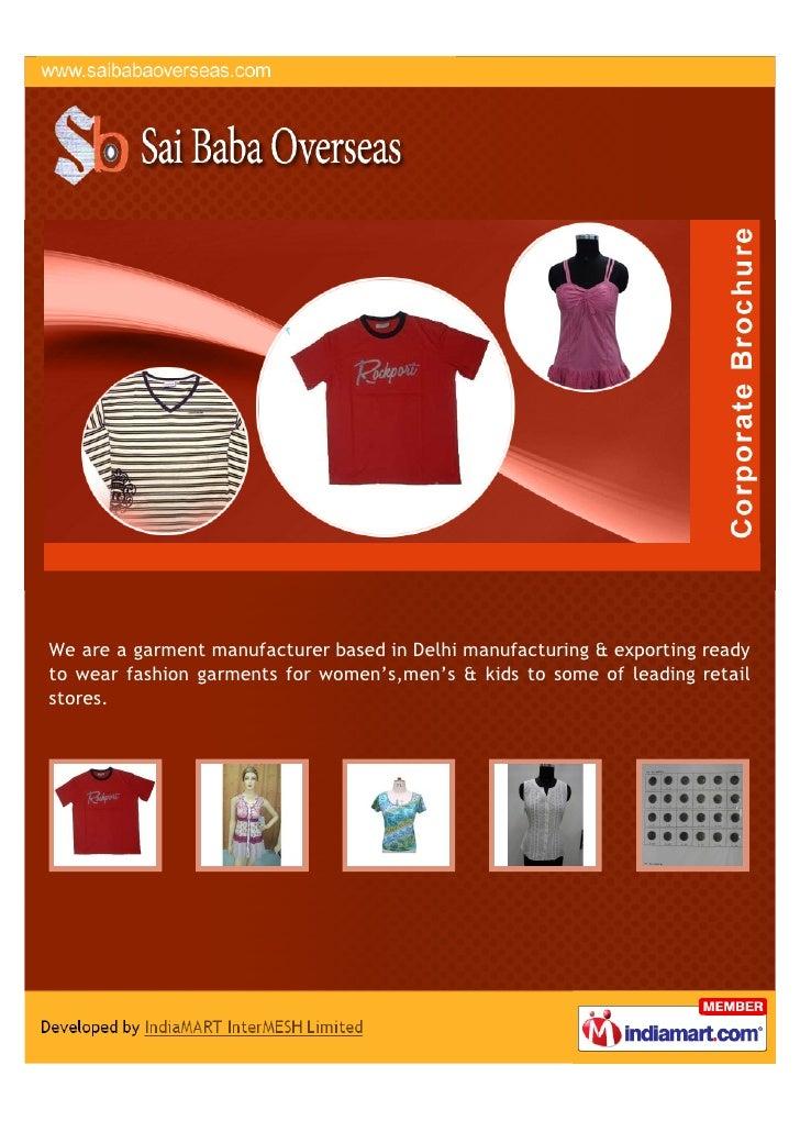 Sai Baba Overseas, New Delhi, T-Shirts