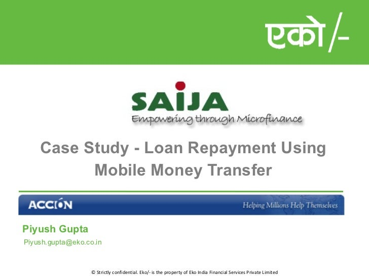 Case Study - Cash Collection for Saija MFI