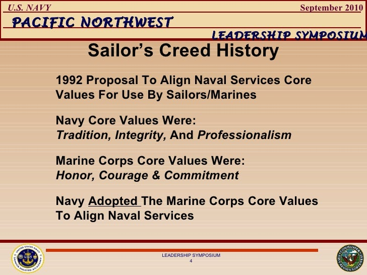 navy core values Our warfighting capability is diminished by the reality – and the perception – of  illegal, unethical and immoral behavior navy core values and.