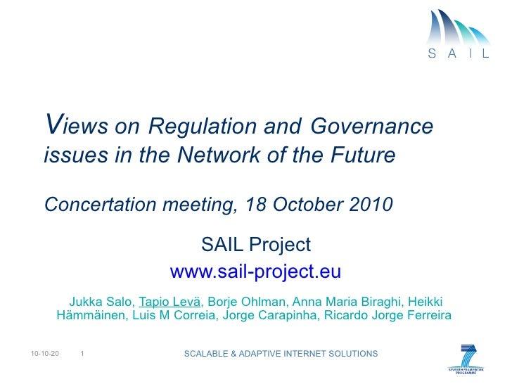 Sail regulation governance 101018