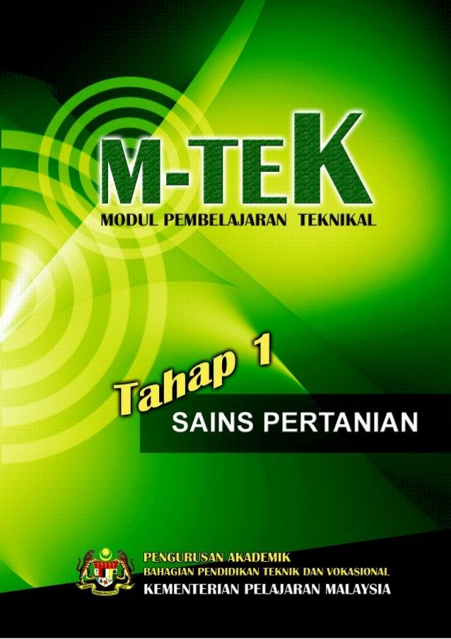 PA_BPTV_KPM   M-TE K_SAINS PERTANIANOPIK 1: