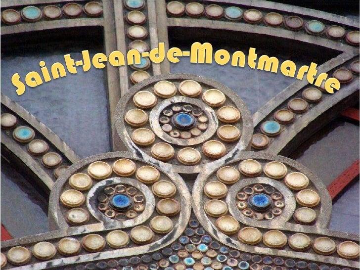 Saint-Jean-de-Montmartre PARIS