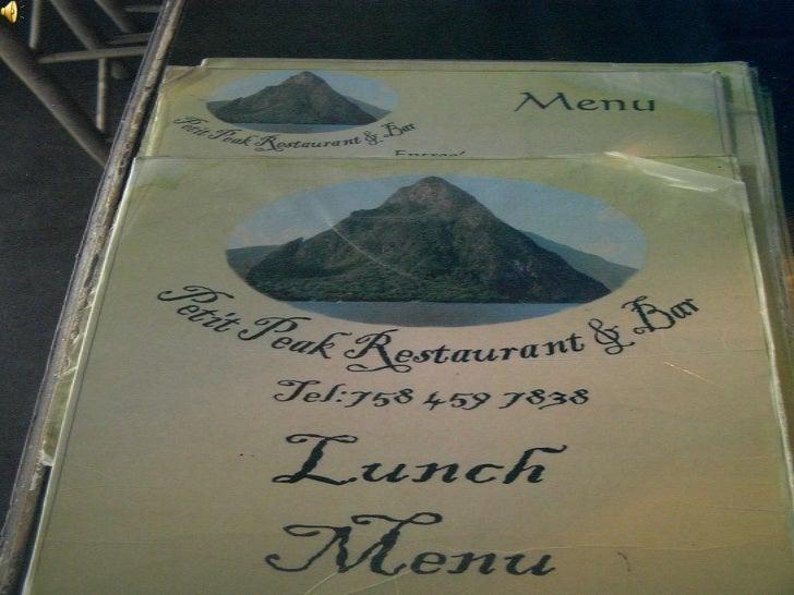 Saint lucia creole restaurant