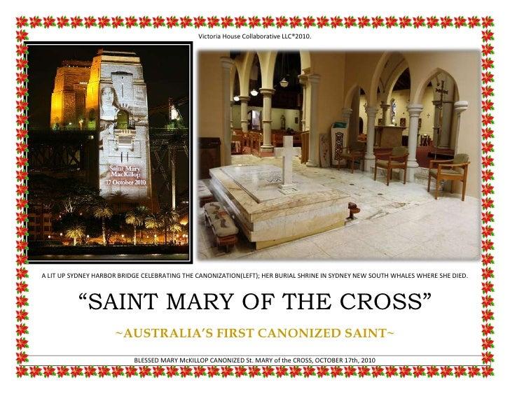 Saint mary of the cross