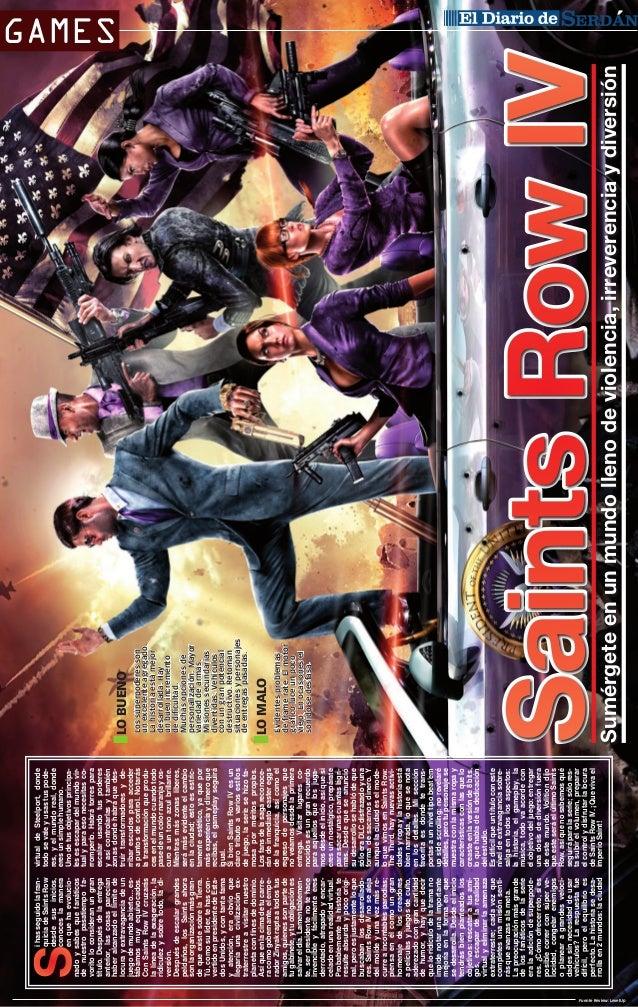 i has seguido la franquicia de Saints Row desde sus inicios, conoces la manera en que ha evolucionado y sabes que fanático...