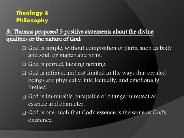 an overview of the methods of proving the existence of god of saint thomas aquinas Recite the five proofs of god's existence according to thomas aquinas   help and review  st thomas aquinas' five proofs of god related study materials.