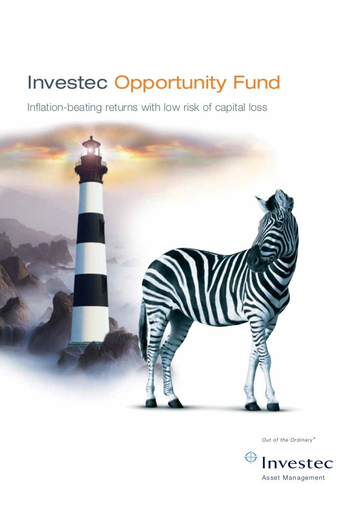 Investec Opportunity FundInflation-beating returns with low risk of capital loss                                          ...