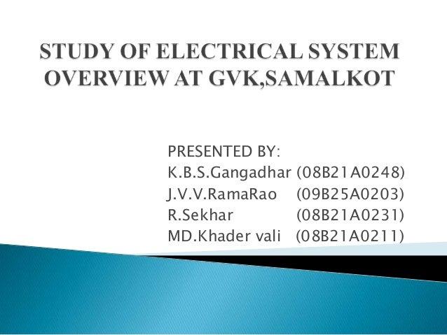 PRESENTED BY:K.B.S.Gangadhar (08B21A0248)J.V.V.RamaRao (09B25A0203)R.Sekhar        (08B21A0231)MD.Khader vali (08B21A0211)