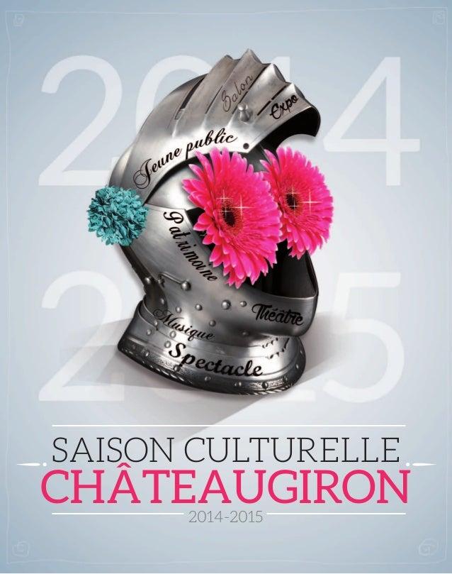 Saison culturelle  CHâTEAUGIRON  2014-2015