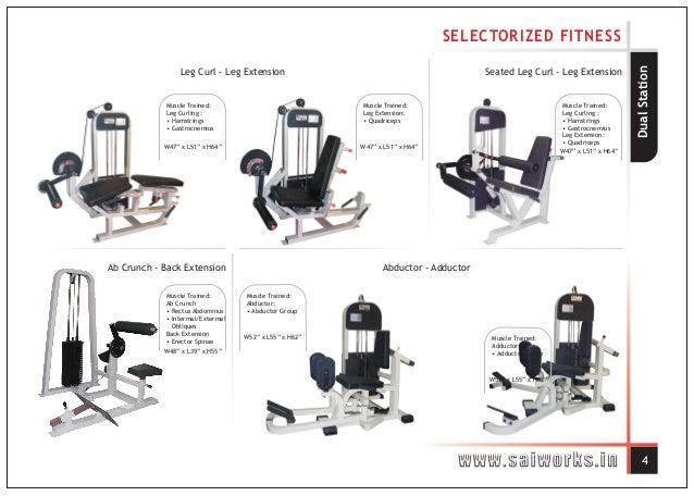Sai Works Fitness Equipment Gym Equipment Manufacturer In