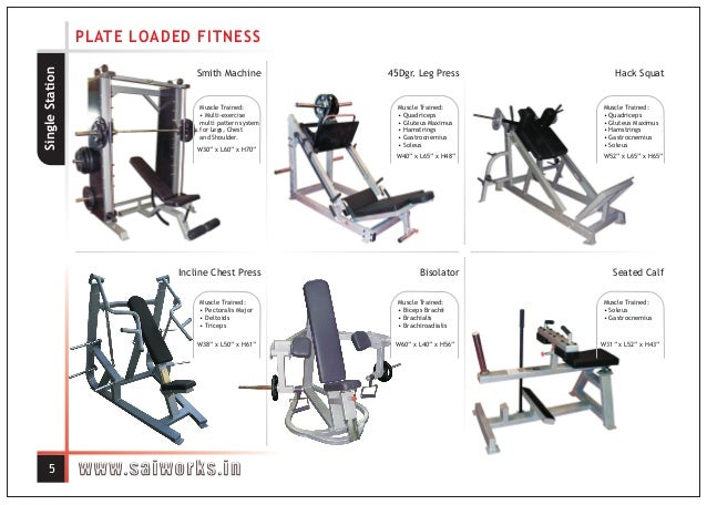 Sai works fitness equipment gym manufacturer in