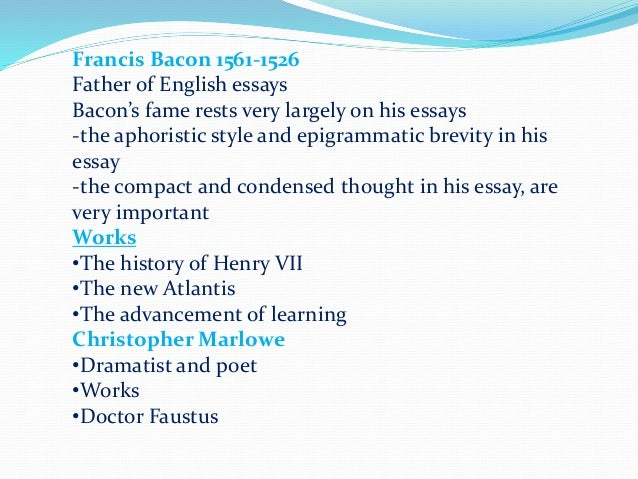 essays on history of english literature Free english literature papers, essays, and research papers.