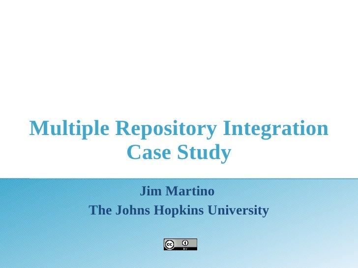 Sakai09 Repo Case Study