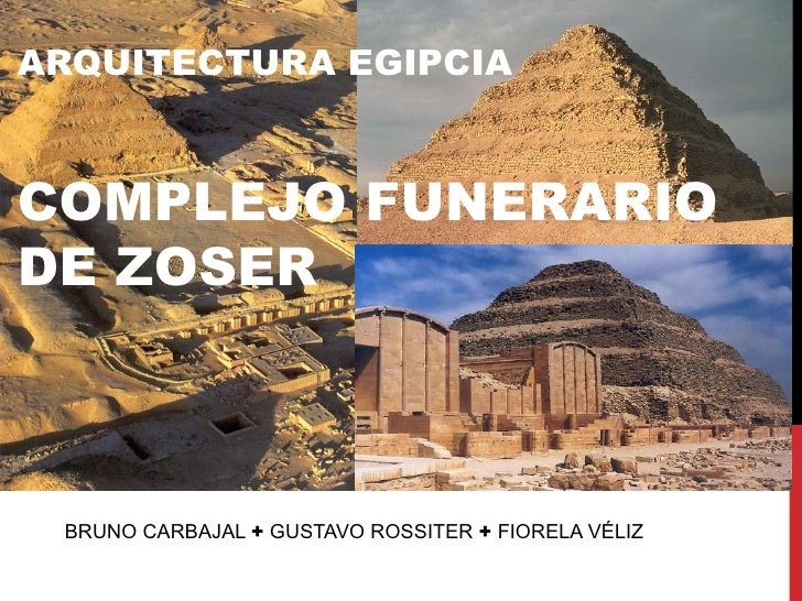 Arquitectura egipcia complejo funerario de zoser for Arquitectura egipcia