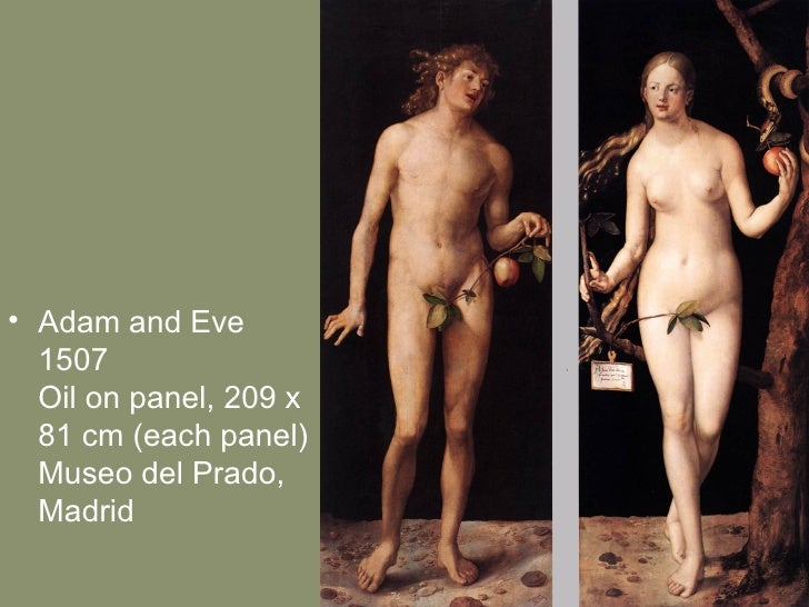 Albrecht Durer Adam And Eve 1507 Adam And Eve 1507 Oil on Panel