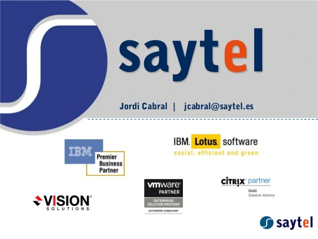 saytel Jordi Cabral | jcabral@saytel.es