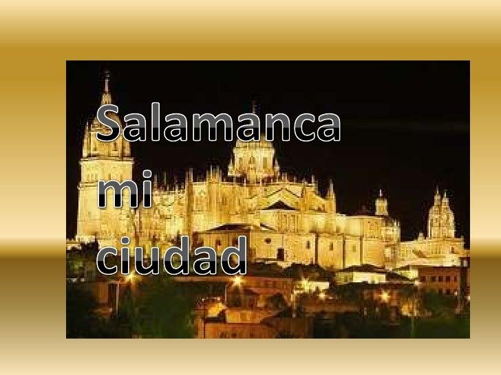 Salamanca Mi Tierra