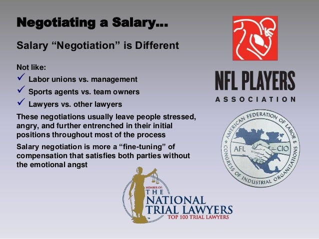 salary negotiation role play ©pro mind consulting 2012 management and organisation development role play – sample goal the goal of this exercise is to get familiar with the 14 steps of an interest-based negotiation.