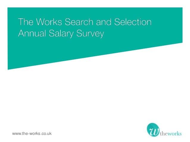 The Works - PR Salary Survey 2013