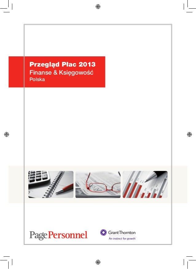 Przegląd Płac 2013 Finanse i Księgowość