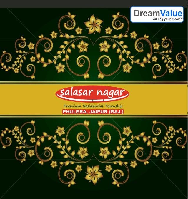 Salasar nagar, 9911658555, Plots in Phulera, DMIC, Jaipur Property