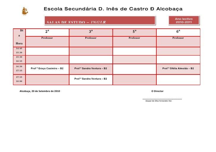 Escola Secundária D. Inês de Castro – Alcobaça                                                                            ...