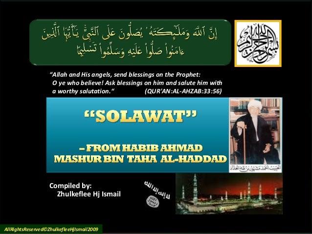 Salawat habibmashuralhaddad