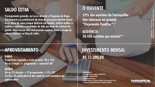 SALDO EXTRA O programete gravado, vai ao ar durante o Programa do Gugu. Diariamente um profissional da área de economia fa...