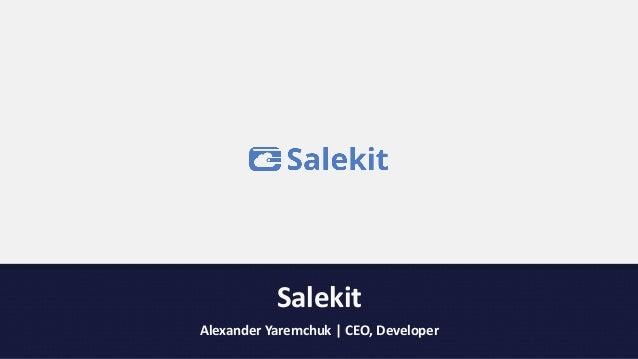 Salekit   presentation