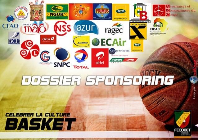 Dossier sponsoring Basket CONGO