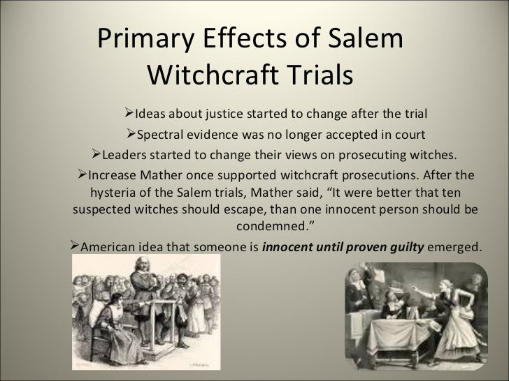 Salem Witch Trials Thesis Papers