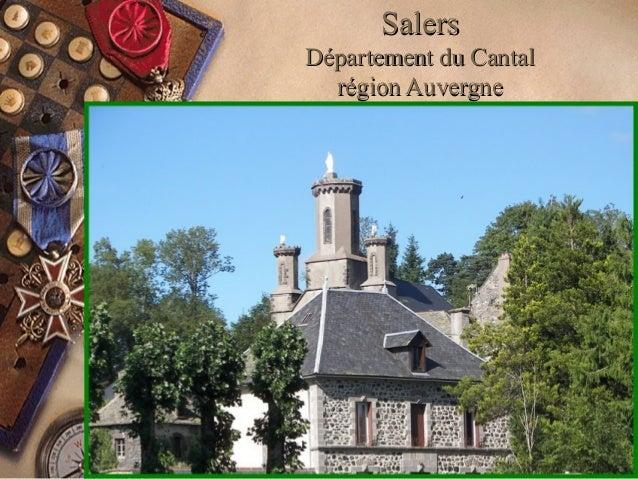 SalersSalers Département du CantalDépartement du Cantal région Auvergnerégion Auvergne